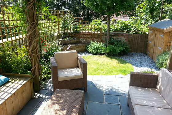 Garden By Design interior design ideas redecorating remodeling photos Garden In Hove A Space To Relax