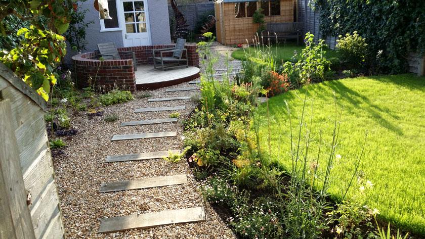 A dramatic transformation : Lilybud Gardens by Design