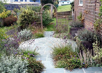 Garden Design Cottage Style portfolio - brighton & worthing area garden designer: lilybud