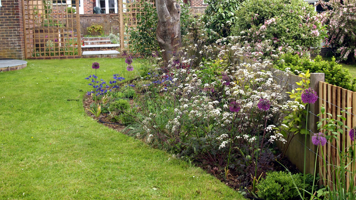 Creating a cottage garden style Brighton Lilybud Gardens by Design