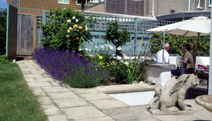 Large Town Garden, Hove