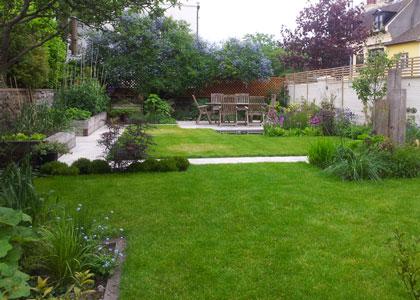 Portfolio brighton worthing area garden designer for Family garden designs